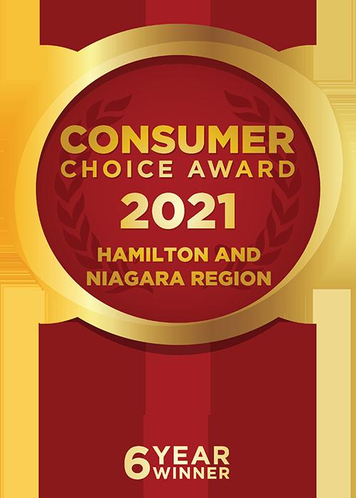 6 Year Consumer Choice Award Winner